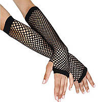 Кружевные длинные перчатки по локоть
