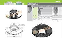 Диск тормозной вентилируемый передний MAN F90, F2000, E2000 98.002.006-FR / 81508030009