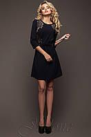 Женское темно-синее платье-туника Силар  42-48 размеры Jadone