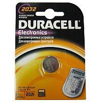 Батарейка Duracell 2032 Литий 3V
