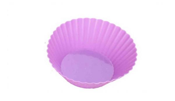 Набор форм для выпечки силиконовых круглых (6 шт / 7*3 см)  Vincent  VC-1468