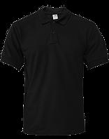 Тенниска POLO «Полиция» черного цвета