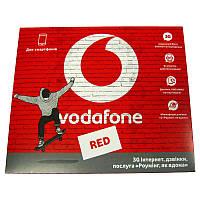 Стартовый пакет     Vodafone Red S  60грн(абонплата 60грн.в месяц)