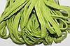 Кант текстильный (50м) салат+белый