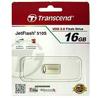 Флешка  16Gb Transcend 510 Silver