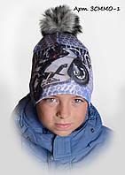 Детская шапка Мото арт.ЗСММО-1