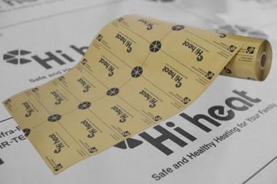Сплошная инфракрасная пленка Hi Heat (Корея) повышенной надежности Теплый электрический пол