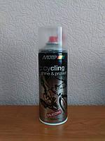 Очищающее средство для ухода за велосипедом Motip Cycling (400 мл.) с силиконом