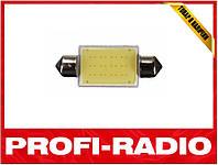 Светодиодная лампа Led COB c5w 31MM 3W 12V подсветка номера, салона