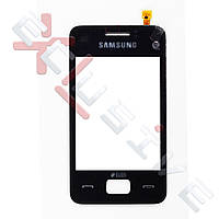 Сенсор (тачскрин) Samsung S5222 чорний