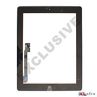 Сенсор (тачскрин) iPad 3 / 4 New с кнопкой home Black