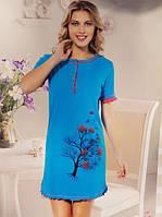 Женская ночная рубашка SIS-154 (большие размеры)