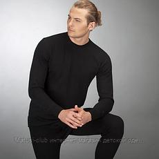 ,,ТЕРМОБЕЛЬЕ мужское в Украине. KAY-2 комплекта, Синий-тонкий, Черный- теплый 175рост, фото 2