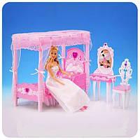 """Мебель для кукол (барби) """"Спальня"""" Gloria 2614"""