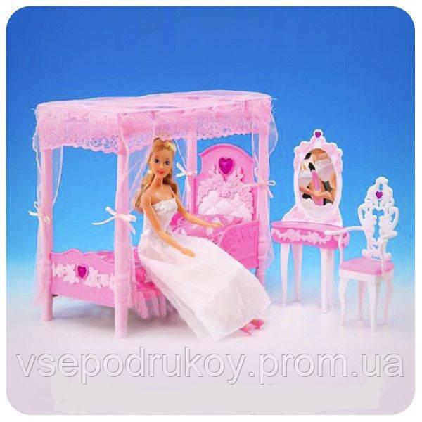 мебель для кукол барби спальня Gloria 2614 цена 200 грн