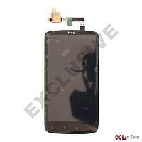 Дисплей HTC Sensation XE Z715e \ G18 (червоні сенсорні кнопки) з сенсорним склом