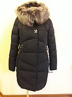 Куртка женская зимняя с мехом 16-156