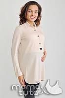 Блуза-платье Моника для беременных и кормления шампань-С,М,Л