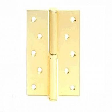 Петля разъемная стальная Apecs 125*75-B-Steel-G-L (золото левая)