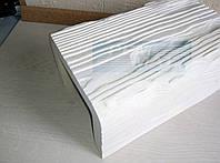 Декоративная балка 17x19 EQ004 Рустик белая