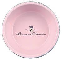 Миска для собак Princess 0.45 л/ø16 см, керамика, розовый, фото 1