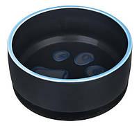 Миска керамическая с резинкой, 0.75 л/ø16 см, фото 1