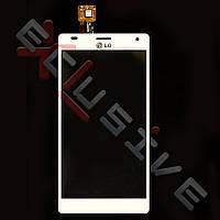Скло ( сенсор ) LG P880 Optimus 4X HD БІЛИЙ
