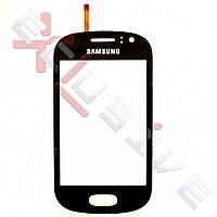 Сенсор (тачскрин) Samsung S6810 Black