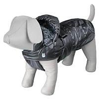 """Попона зимняя для собак """"Chianti""""  с капюшоном, (все размеры) серый"""