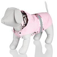 """Попона для собак с капюшоном """"Como"""" (розовая) все размеры"""