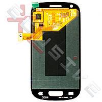 Дисплей Samsung I8190 Galaxy S3 mini с тачскрином, рамкой White