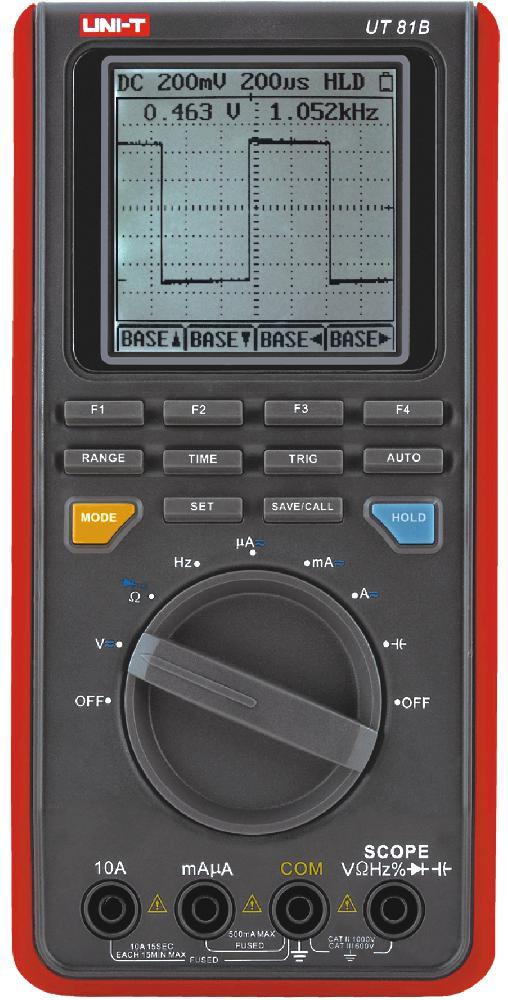 Мультиметр цифровой UNI-T UT-81B (большой экран)