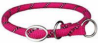Ошейник-удавка Sporty Rope, L–XL: 55 см/o 13 мм, фуксия