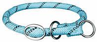 Ошейник-удавка Sporty Rope, L: 50 см/o 8 мм, синий