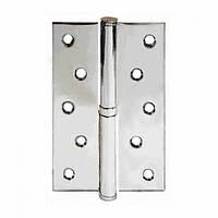 Петля разъемная стальная Apecs 125*75-B-Steel-CR-L (хром левая)