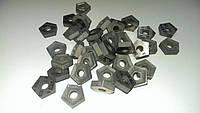 Пластина твердосплавная  пятигранной формы 10114-110408 ВК8