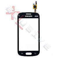 Сенсор (тачскрин) Samsung S7392 Galaxy Trend Duos Original Black