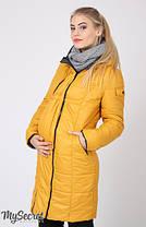 Куртка пальто зимнее для беременных, фото 2