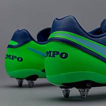 Бутсы Nike Tiempo Genio II Leather SG  819715-443 (Оригинал), фото 3