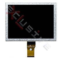 Дисплей 8 inch. 50pins. Prestigio PMP 5080B \ Ritmix RBK-470 \ Texet TB-840HD