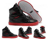 Мужские кроссовки Supra TK Society black-red