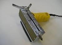 Электрическая портативная зачистная машина для снятия лицевых сварных швов ПВХ окон