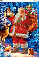 "Схема для вышивки бисером ""Дед Мороз"""