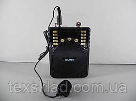Портативная акустика для экскурсовода с петличным микрофоном Atlanfa-31