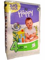 Підгузники  для дітей Хепи 4 66 шт.