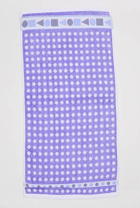 Полотенце махровое в горошек (арт. V1096), фото 2