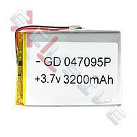 Аккумулятор для планшета 4.0*70*97мм / 3200 mAh