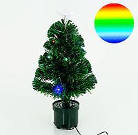 Маленькая новогодняя елка светящаяся