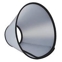 Защитный воротник,на липучке,  размер L-XL, 50-58 см/28 см