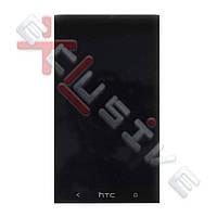 Дисплей HTC One M7 Dual Sim 802w с тачскрином